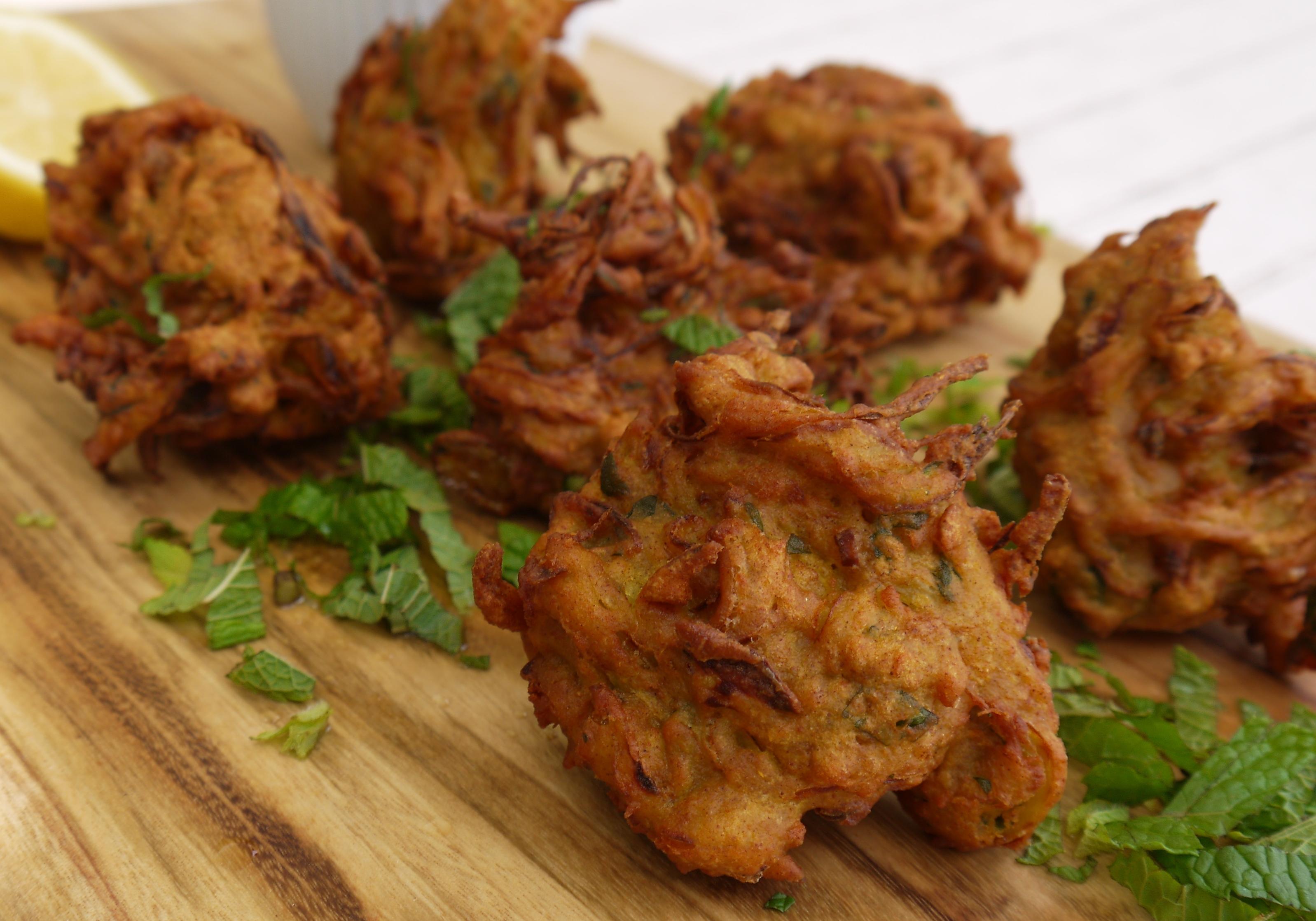 Home Made Onion Bhaji